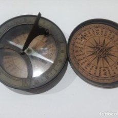 Antigüedades: BRÚJULA 18TH C. SUNDIAL & COMPASS. Lote 139003814