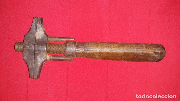 Antigüedades: ANTIGUA LLAVE INGLESA - Foto 2 - 139036830