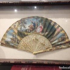 Antigüedades: ABANICO DEL SIGLO XVIII. Lote 136312378