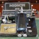 Antigüedades: MAQUINA DE ESCRIBIR MIGNON MODELO 4. Lote 139160036