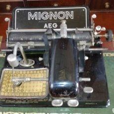 Antigüedades: MAQUINA DE ESCRIBIR MIGNON MODELO 4. Lote 185684842