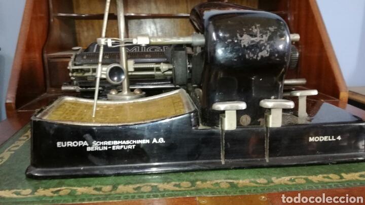 Antigüedades: Maquina de escribir MIGNON modelo 4 - Foto 4 - 185684842