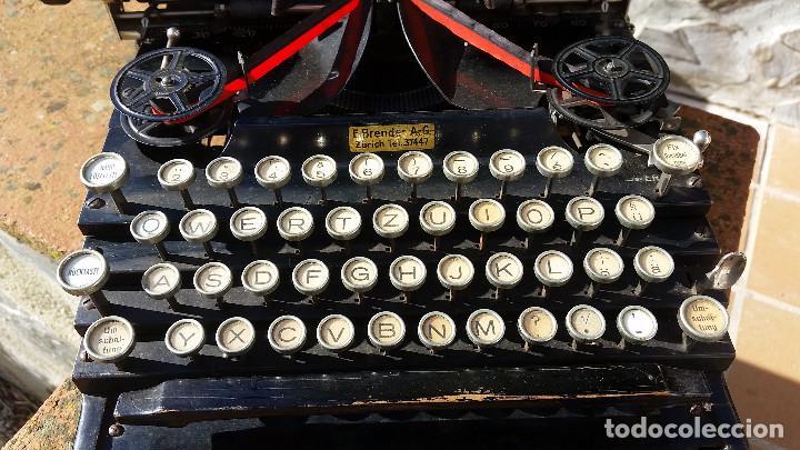 Antigüedades: Royal No. 5 , maquina de escribir tipo flatbed, USA, muy antigua, funcionando - ver video - Foto 2 - 139174842