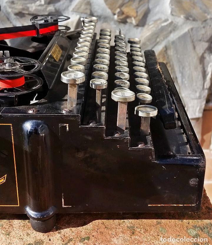 Antigüedades: Royal No. 5 , maquina de escribir tipo flatbed, USA, muy antigua, funcionando - ver video - Foto 4 - 139174842