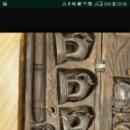 Antigüedades: BALANZA CON PONDERALES. Lote 139239646