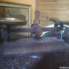 Antigüedades: BALANZA HIERRO.. Lote 139241048