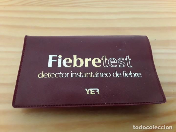 FIEBRETEST. DETECTOR INSTANTÁNEO (Antigüedades - Técnicas - Herramientas Profesionales - Medicina)