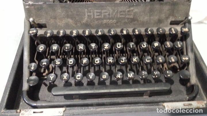 Antigüedades: Máquina escribir marca Underwood. Antigua y maravillosa. FUNCIONANDO. - Foto 5 - 139291038