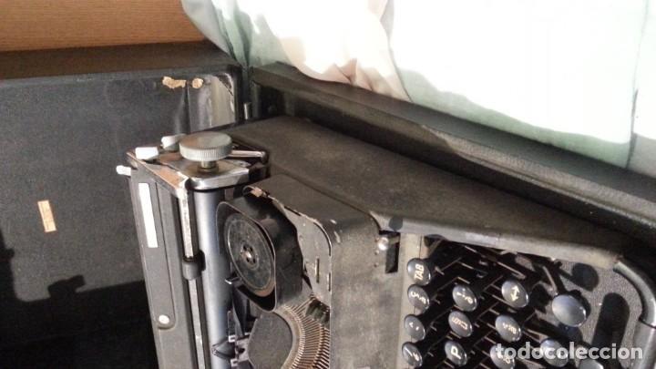 Antigüedades: Máquina escribir marca Underwood. Antigua y maravillosa. FUNCIONANDO. - Foto 6 - 139291038