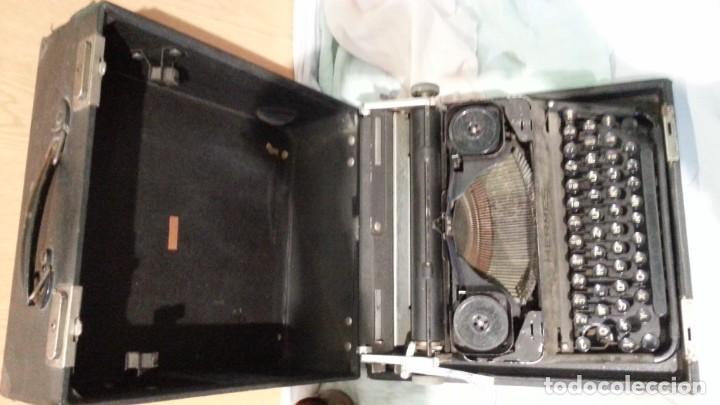 Antigüedades: Máquina escribir marca Underwood. Antigua y maravillosa. FUNCIONANDO. - Foto 8 - 139291038