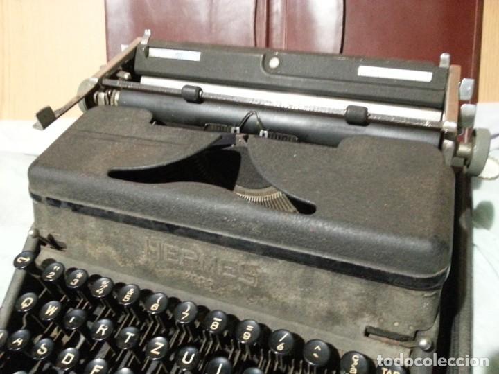 Antigüedades: Máquina escribir marca Underwood. Antigua y maravillosa. FUNCIONANDO. - Foto 10 - 139291038