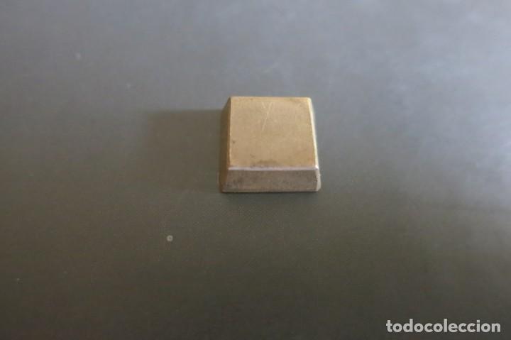 Antigüedades: pesa de 32 Quilates 1850 - Foto 2 - 139296714