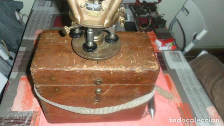 Antigüedades: aparato de topografia americano --u--s--a - Foto 19 - 139322102