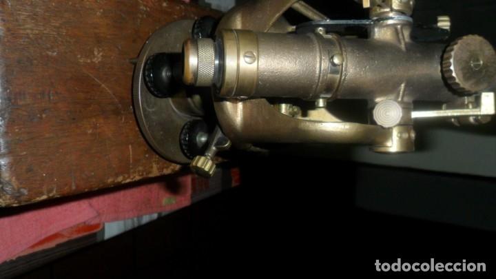 Antigüedades: aparato de topografia americano --u--s--a - Foto 21 - 139322102