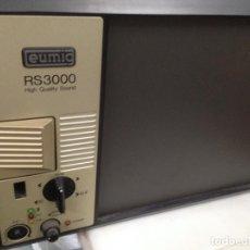 Antigüedades: ANTIGUO PROYECTOR RETROPROYECTOR CINE SONORO SUPER 8 EUMIG RS 3000. Lote 139330122