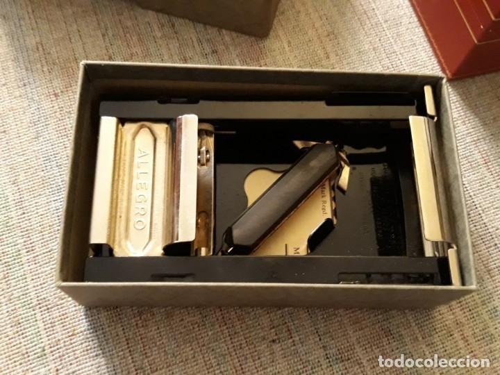 Antigüedades: AFILADOR DE CUCHILLAS ALLEGRO. MODELO L.made in swiss, buen estado - Foto 6 - 139333814