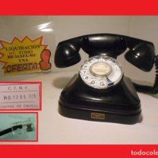 Teléfonos: TELÉFONO ESPAÑOL DE SOBREMESA AÑOS 50 STANDARD ELÉCTRICA, S.A. - MADRID FUNCIONANDO Y PASADO CONTROL. Lote 139351550