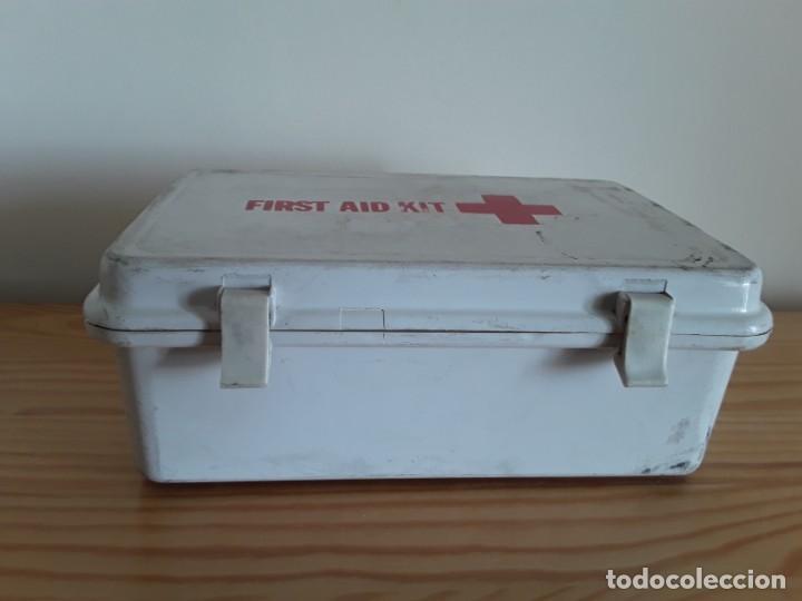 Antigüedades: Botiquín kit primeros auxilios - Foto 2 - 139364930