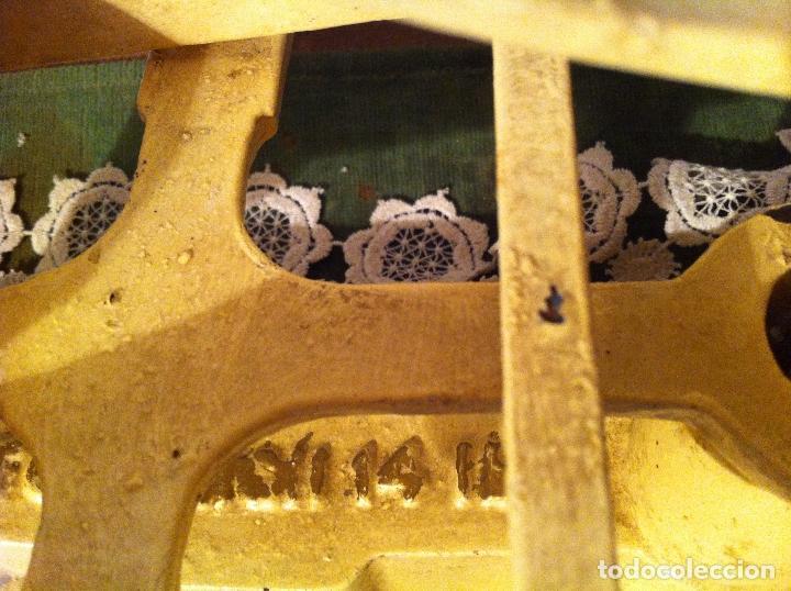Antigüedades: HERMOSA BALANZA INGLESA FUERZA 14 LB(7 KG) CON SUS PESAS (BI 13+PW07) - Foto 10 - 139455794