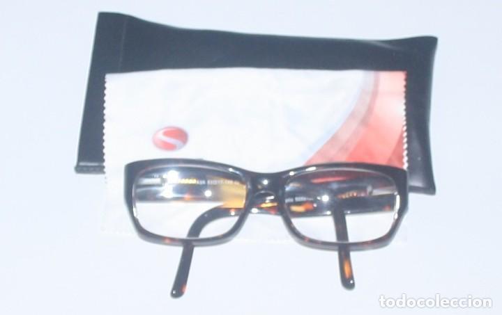 GAFAS DE PASTA GRADUADAS CON FUNDA (Antigüedades - Técnicas - Instrumentos Ópticos - Gafas Antiguas)