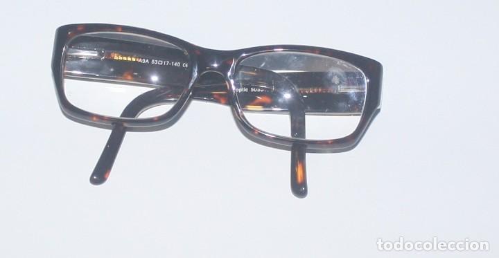 Antigüedades: Gafas de pasta graduadas con funda - Foto 4 - 139461874