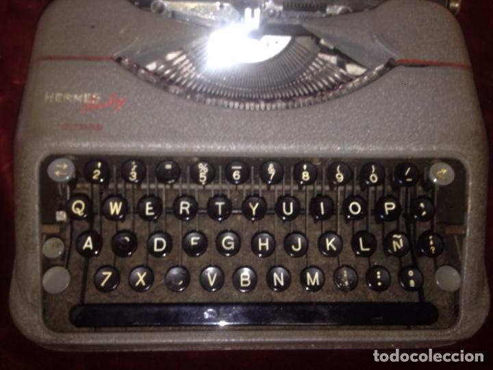 Antigüedades: Máquina de escribir Hermes - Foto 3 - 139506537