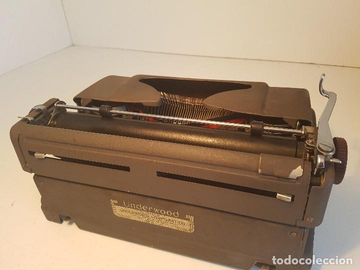 Antigüedades: Underwood Finger Flite, años 50, USA, funcionando ! - Foto 5 - 139525594
