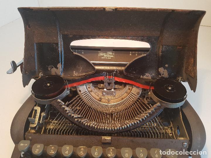 Antigüedades: Underwood Finger Flite, años 50, USA, funcionando ! - Foto 8 - 139525594