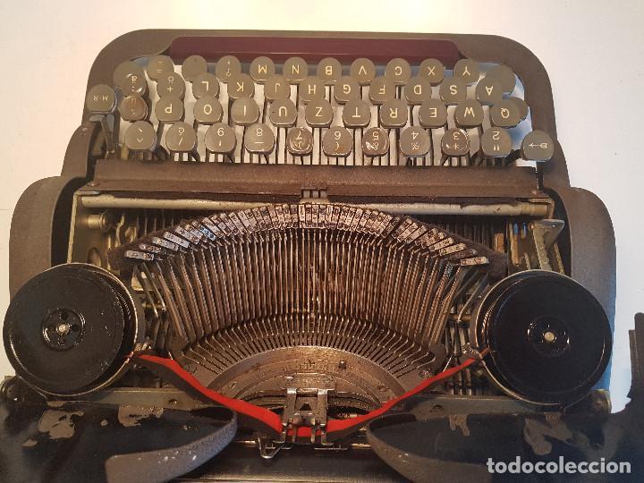 Antigüedades: Underwood Finger Flite, años 50, USA, funcionando ! - Foto 9 - 139525594