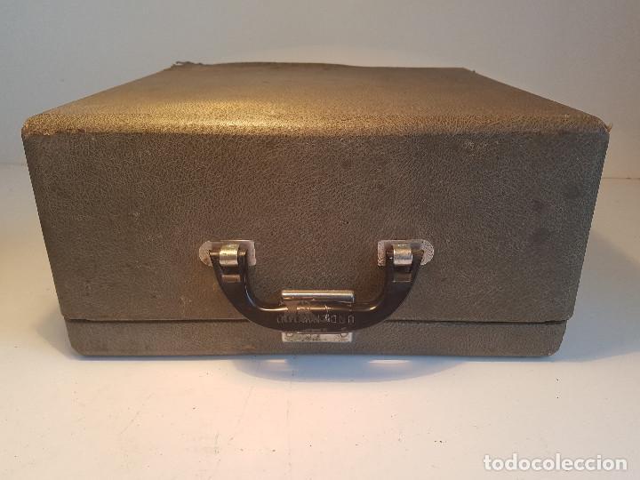 Antigüedades: Underwood Finger Flite, años 50, USA, funcionando ! - Foto 11 - 139525594