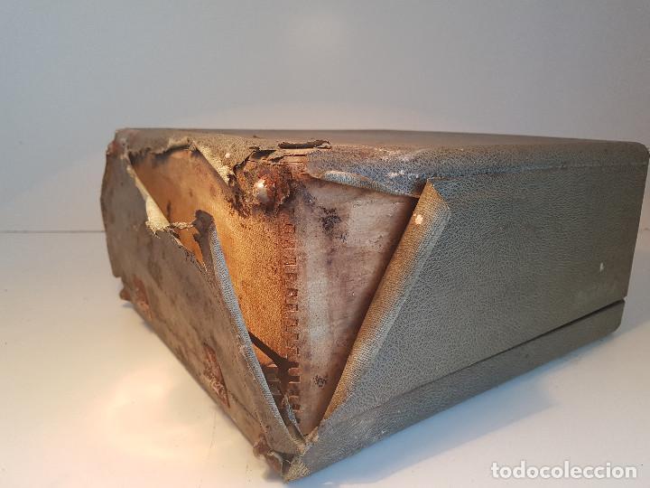 Antigüedades: Underwood Finger Flite, años 50, USA, funcionando ! - Foto 13 - 139525594