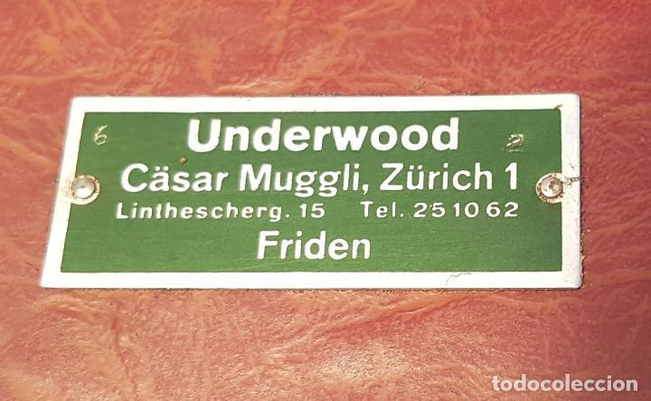 Antigüedades: Underwood Finger Flite, años 50, USA, funcionando ! - Foto 15 - 139525594