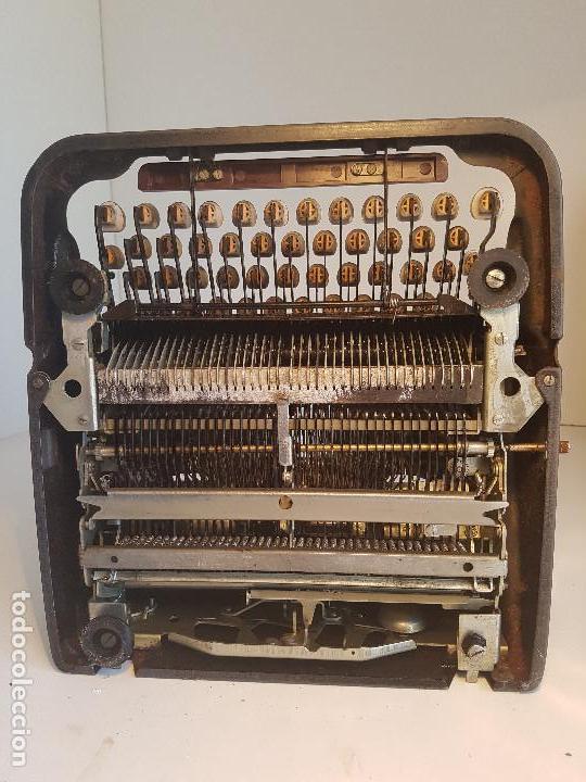 Antigüedades: Underwood Finger Flite, años 50, USA, funcionando ! - Foto 16 - 139525594