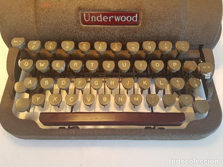 Antigüedades: Underwood Finger Flite, años 50, USA, funcionando ! - Foto 20 - 139525594