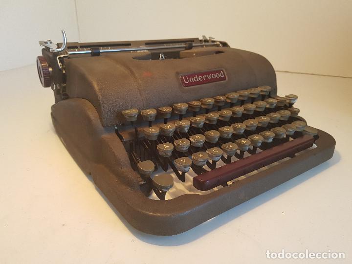 Antigüedades: Underwood Finger Flite, años 50, USA, funcionando ! - Foto 2 - 139525594