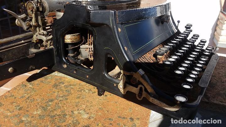 Antigüedades: Adler No.19 - - teclado cientifico, carro ancho, Raro ! - - rare scientific keyboard/wide carriage - Foto 5 - 139526814