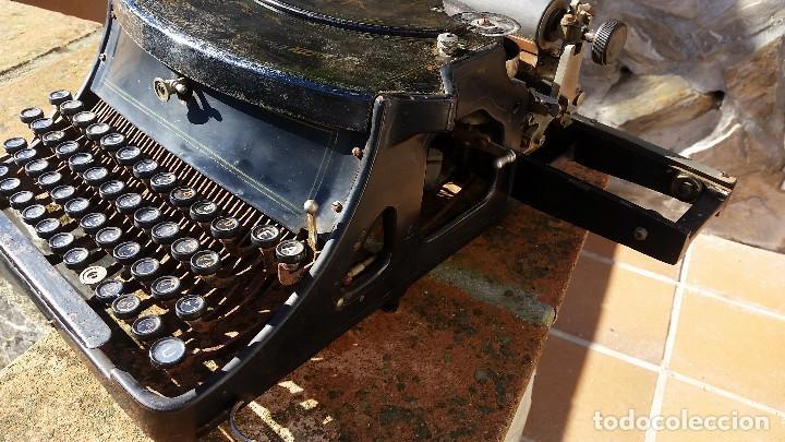 Antigüedades: Adler No.19 - - teclado cientifico, carro ancho, Raro ! - - rare scientific keyboard/wide carriage - Foto 6 - 139526814