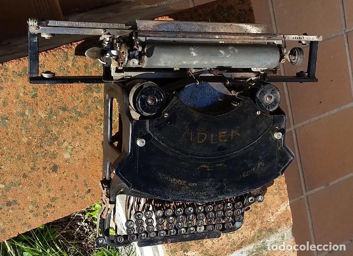 Antigüedades: Adler No.19 - - teclado cientifico, carro ancho, Raro ! - - rare scientific keyboard/wide carriage - Foto 7 - 139526814