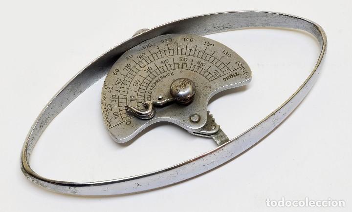 Antigüedades: 1930c - Marca Dröll - Instrumento médico para medir la tracción y presión muscular - Foto 2 - 139548122