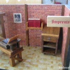 Antigüedades: TALLER IMPRENTA. Lote 230881515