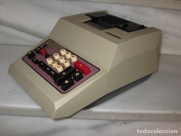 Antigüedades: Calculadora antigua Olivetti. No probada. - Foto 12 - 139752798