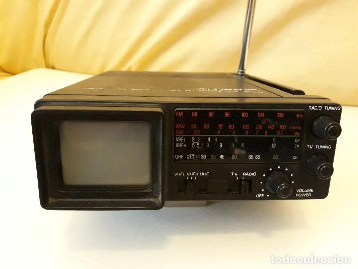 TELEVISION Y RADIO MINI MARCA ORION (Antigüedades - Técnicas - Varios)