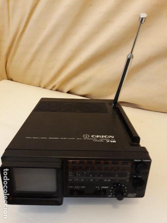 Antigüedades: TELEVISION Y RADIO MINI MARCA ORION - Foto 3 - 139861150