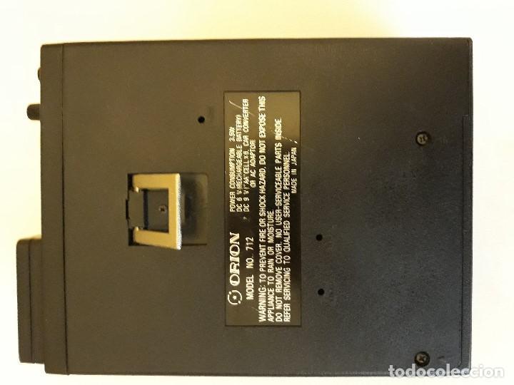 Antigüedades: TELEVISION Y RADIO MINI MARCA ORION - Foto 8 - 139861150