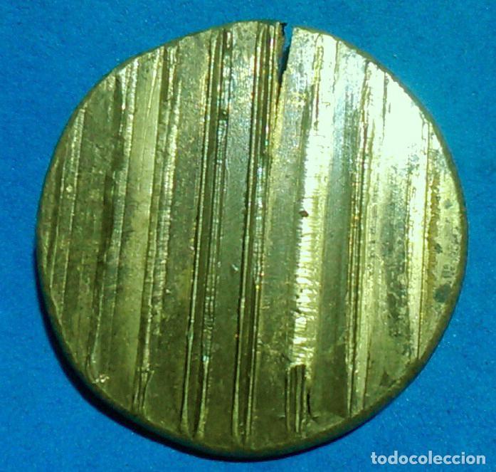 Antigüedades: matriz troquel Caporal , Sergent, mossos descuadra, catalunya, probable II repùblica, bronce latón - Foto 2 - 139914074