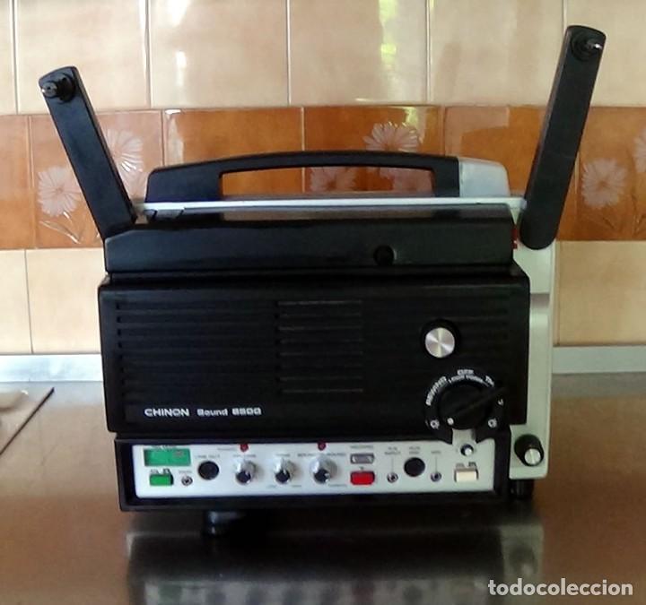 ANTIGUO PROYECTOR SUPER 8 CHINON SOUND 8500 DECORACION RETRO VINTAGE (Antigüedades - Técnicas - Aparatos de Cine Antiguo - Proyectores Antiguos)