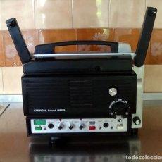 Antigüedades: ANTIGUO PROYECTOR SUPER 8 CHINON SOUND 8500 DECORACION RETRO VINTAGE. Lote 139974126