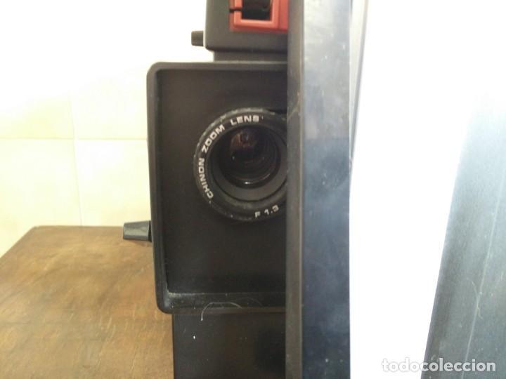 Antigüedades: Antiguo proyector super 8 CHINON SOUND 8500 Decoracion retro vintage - Foto 4 - 139974126