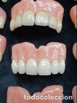 Antigüedades: Expositor completo de dentaduras de principios de 1900. Fantásticas. - Foto 4 - 140093486