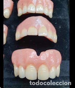 Antigüedades: Expositor completo de dentaduras de principios de 1900. Fantásticas. - Foto 9 - 140093486